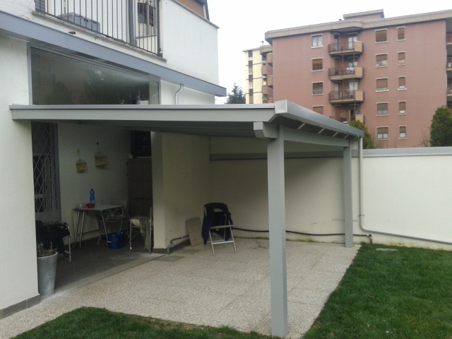 Pergole pompeiane in alluminio - Venezia Padova Treviso - Lino Quaresimin