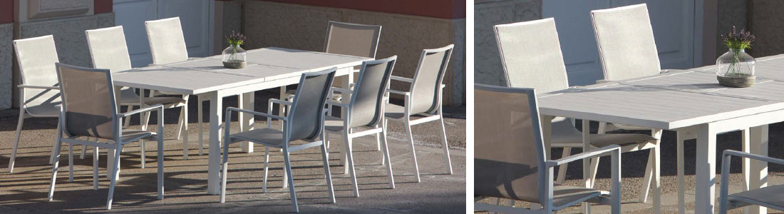 Lino quaresimin arredo da esterno arredo giardino for Arredo da giardino in alluminio