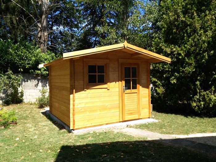 Casette in legno 34 mm venezia casette in legno da - Casette legno giardino prezzi ...